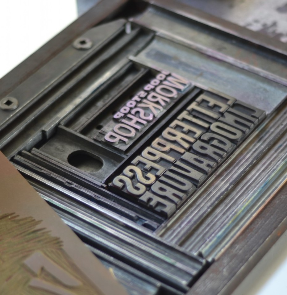 forme typo letterpress