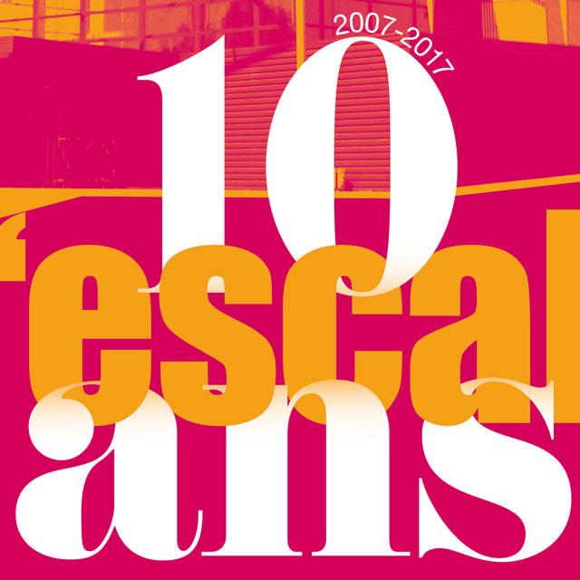 détail de l'affiche 10 ans de l'Escale