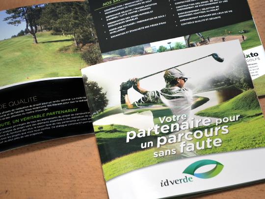 Plaquette golf