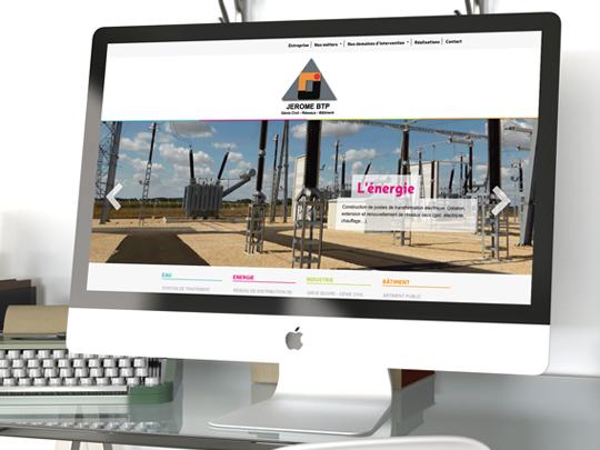 Site web jerome BTP