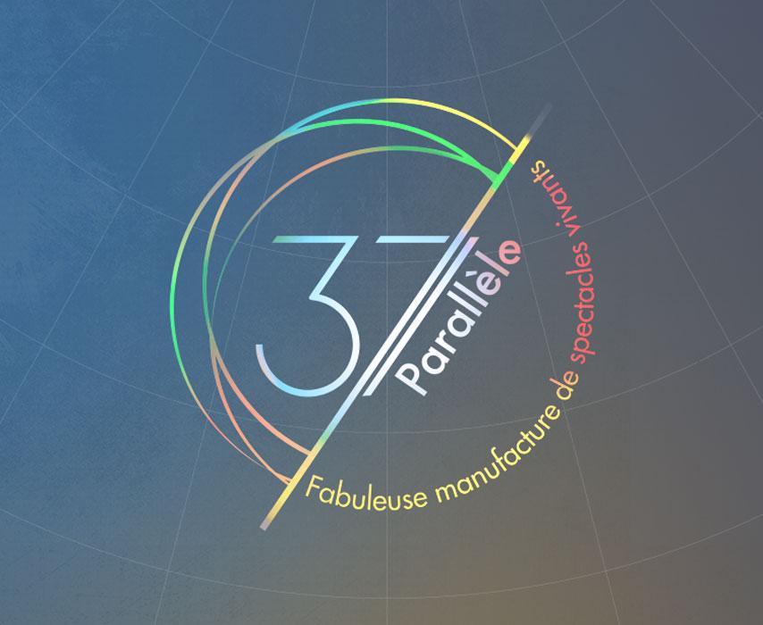Identité graphique du 37e Parallèle