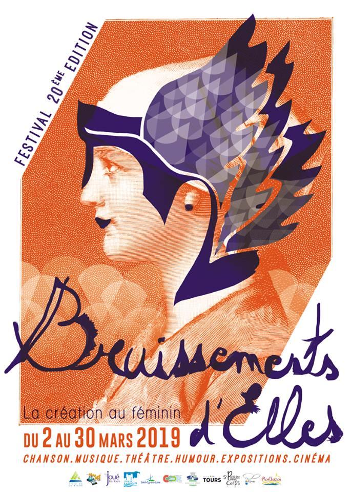 affiche festival Bruissements d'Elles