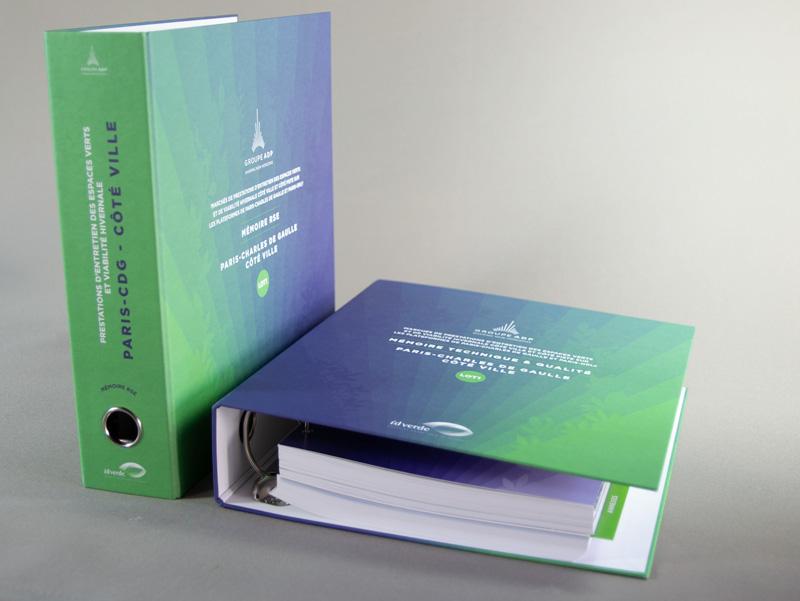 Design d'une réponse d'appel d'offre ADP- Idverde