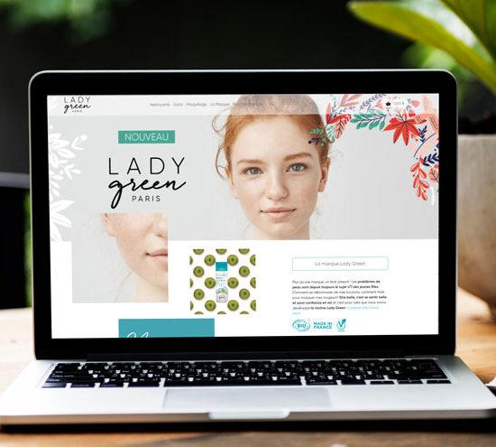 webdesign Lady Green