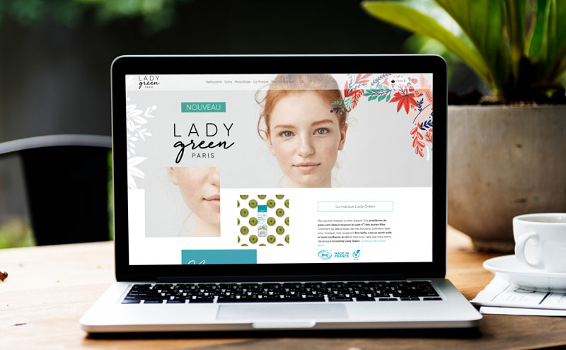webdesign Lady Green